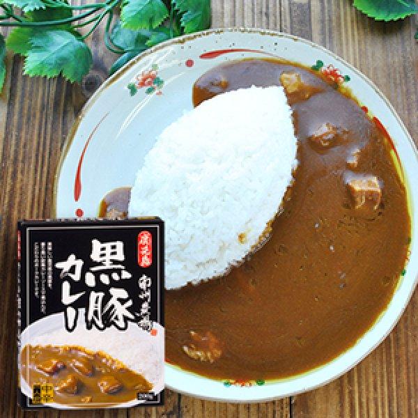 Photo1: Kagoshima Nansyuu farm's famous black pork curry (medium spicy) 200g (1)