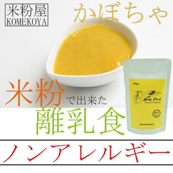 Photo1: Rice powder baby food Pumpkin 100g (for 5months or older) NO MSG Allergen-free (1)