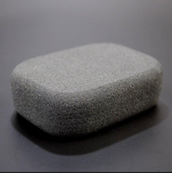 Photo1: [WHOLESALE PRODUCT] OEM Pumice  Stone Containing Binchotan Charcoal Powder (1)