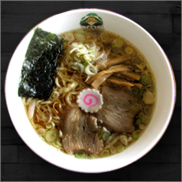 Photo1: Kitakata Ramen AJIHEI Soy Sauce Taste X 2 servings (1)